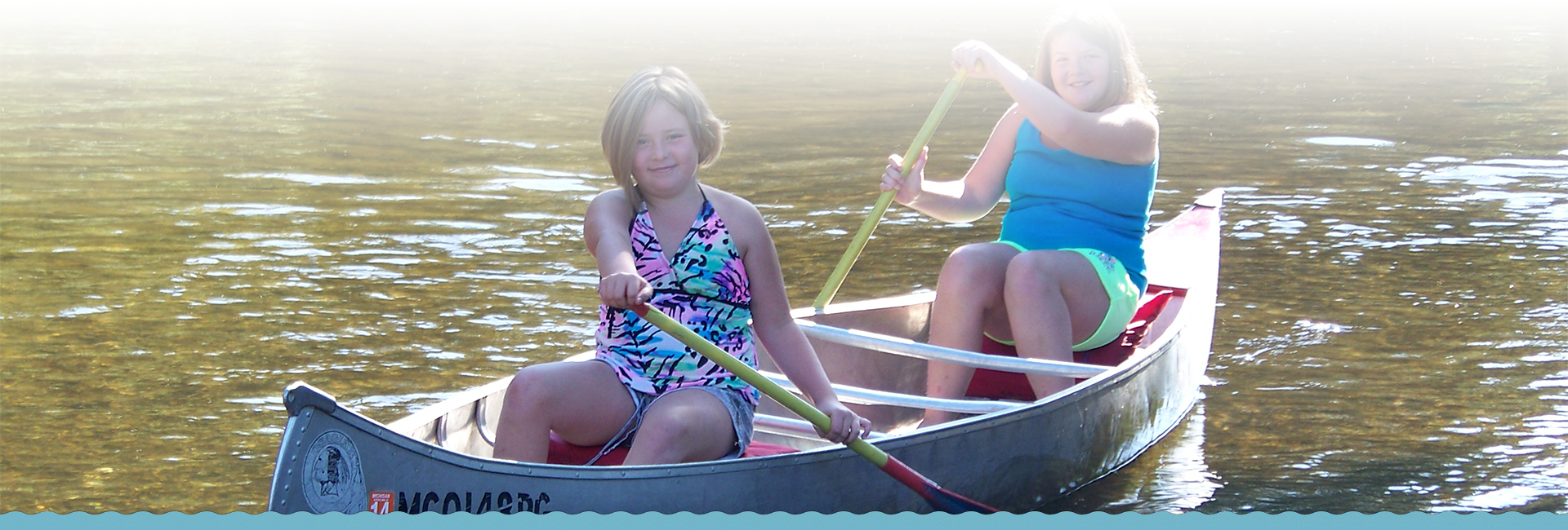 Canoeing down the manistee river with Shel-haven